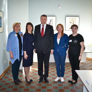 President of Latvia at Luznava manor. 04/05/2017