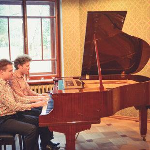 Klavieru dueta DUO B!Z'ART koncerts 28/10/2017