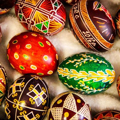 Ukraiņu olu apgleznošanas tradīcija. PISANKA
