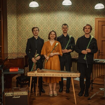 ĶIRŠU KAULIŅU KOMĒTAS. Trio Tresensus un Rihards Ošenieks 31/10/2020