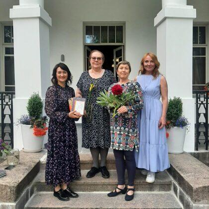 Literary talks in Luznava Manor. NORA IKSTENA 06/06/2021