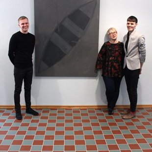 KRISTAPS PRIEDE. Exhibition opening 28/01/2017
