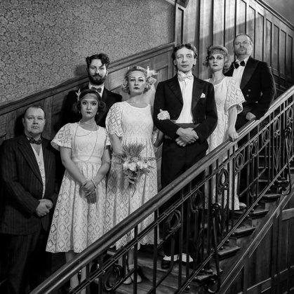 Rezekne theatre JORIKS. Photo shoot WEDDING