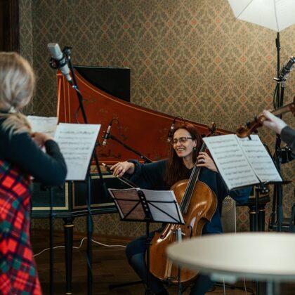 KESSELBERG ENSEMBLE. Album recording
