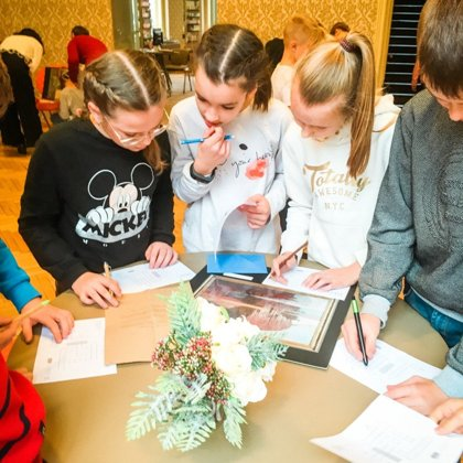 Interactive detective game with the author of children`s books LUĪZI PASTORI 18/10/2019