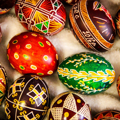Ukrainian Egg Painting Art Exhibition