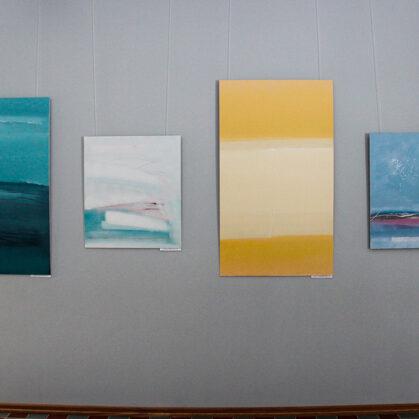 Exhibition. BALTAIS. Inga Onževa