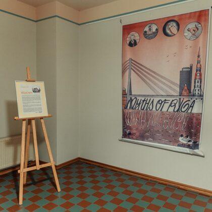 MYTHS OF RIGA. Exhibition