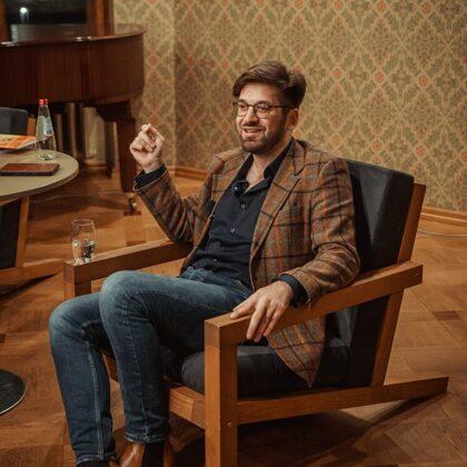 Literary talks in Luznava Manor. SVENS KUZMINS 25/10/2020